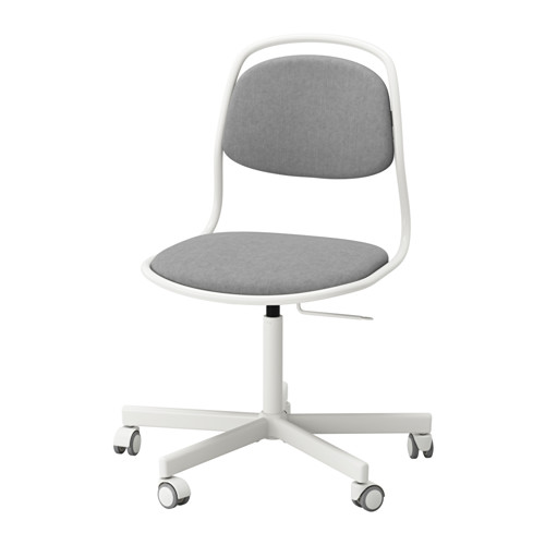 ÖRFJÄLL / SPORREN Swivel chair IKEA High-quality density foam will keep the chair comfortable for many years to come.