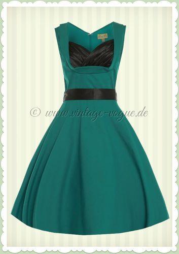 Vintage kleider 50er grun