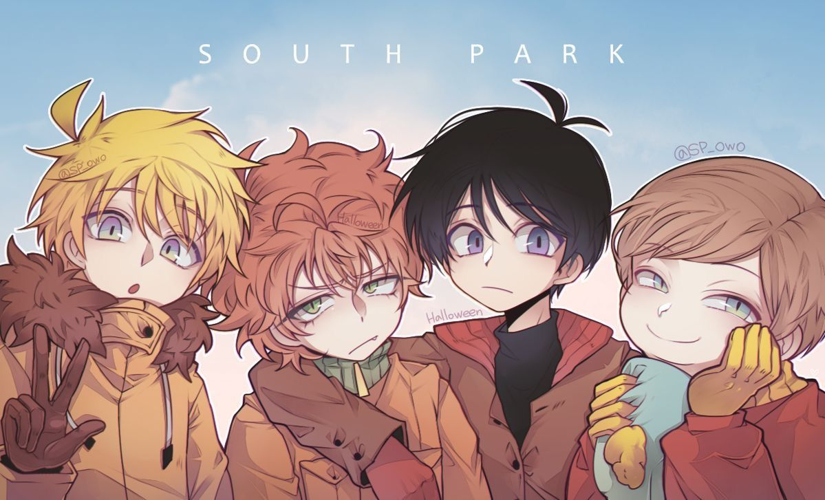 Aaaa That Cartman Is So Cute Style South Park South Park Anime Stan South Park