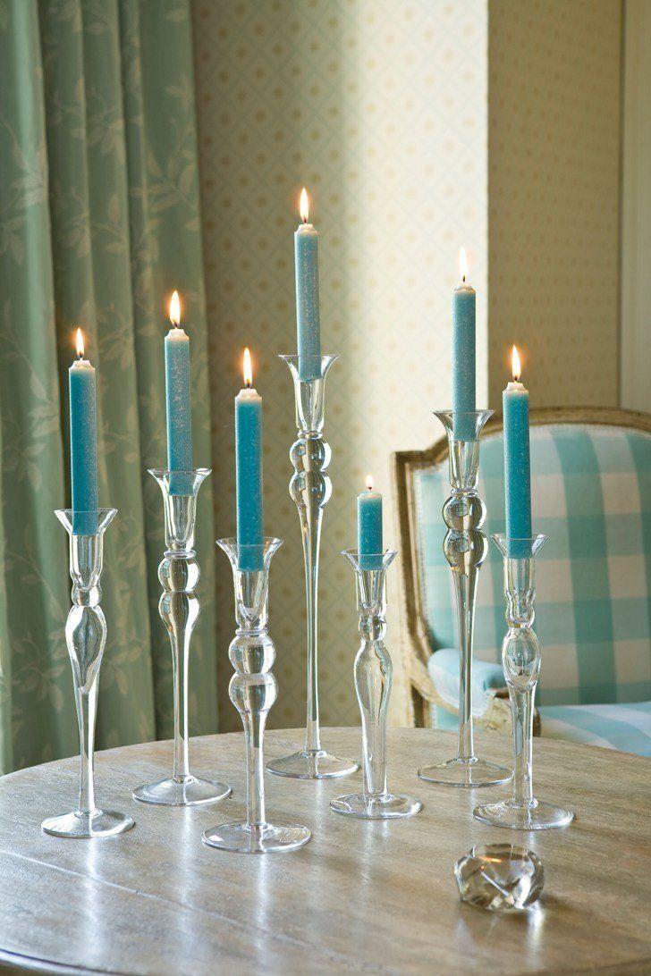 Napa Glass HandBlown Glass Candleholders
