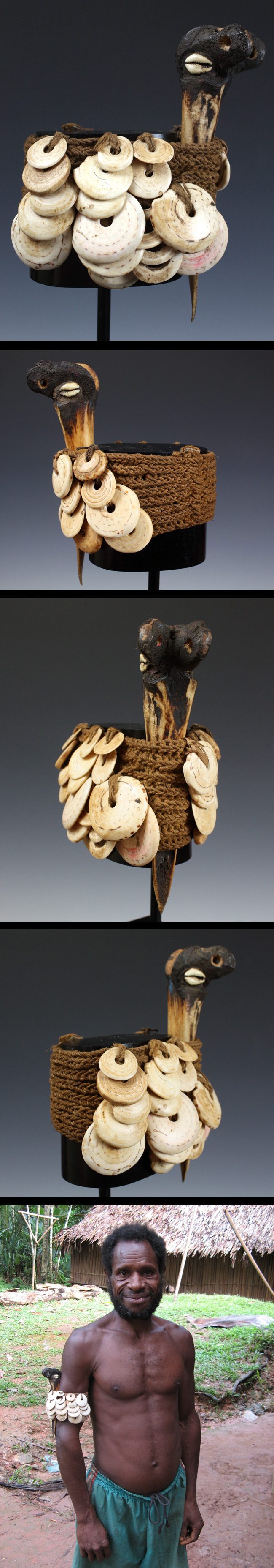 Head for Yam ceremony (Yena) | Kwoma people | The Met