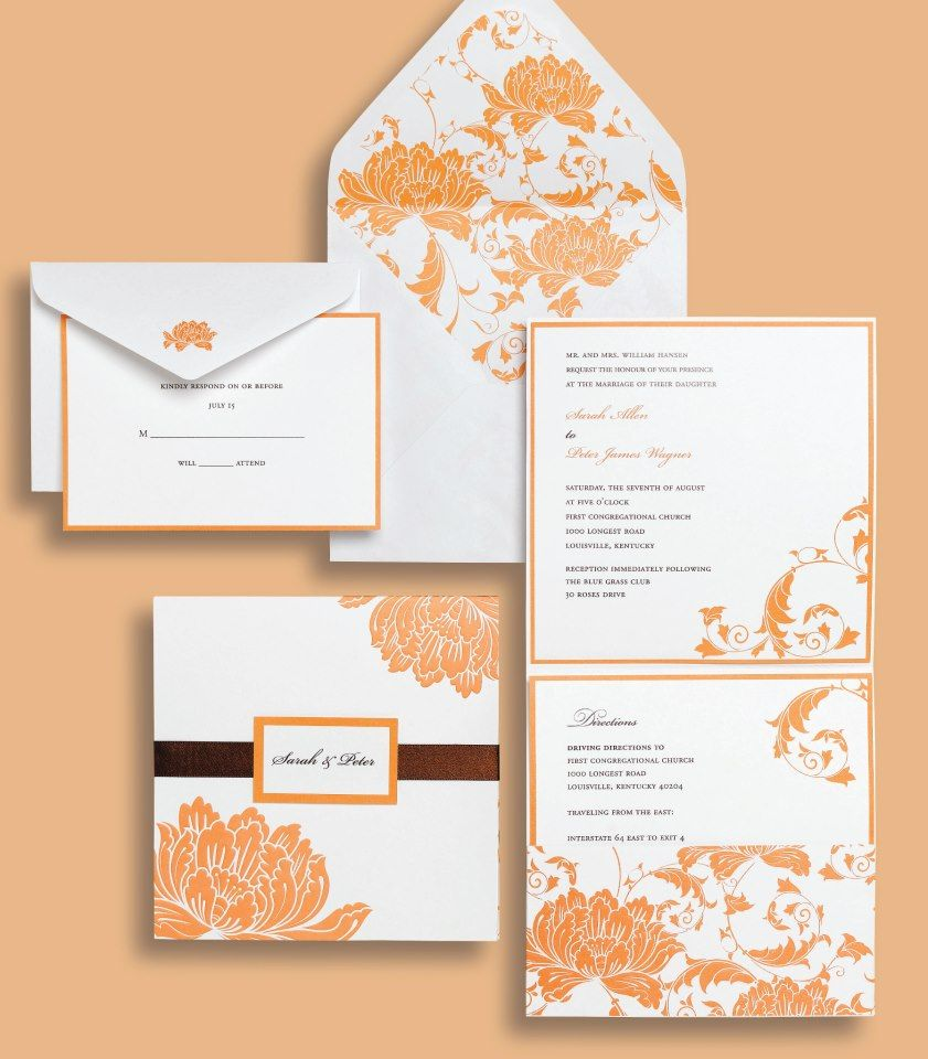 So pretty for a Fall-inspired wedding! Inexpensive as well ...
