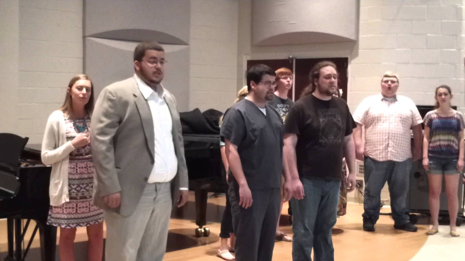 """Voices of Proclamation-""""More than Ever""""  These students are SO talented--one of the many reasons I love being at UU!  Oh my heart~"""