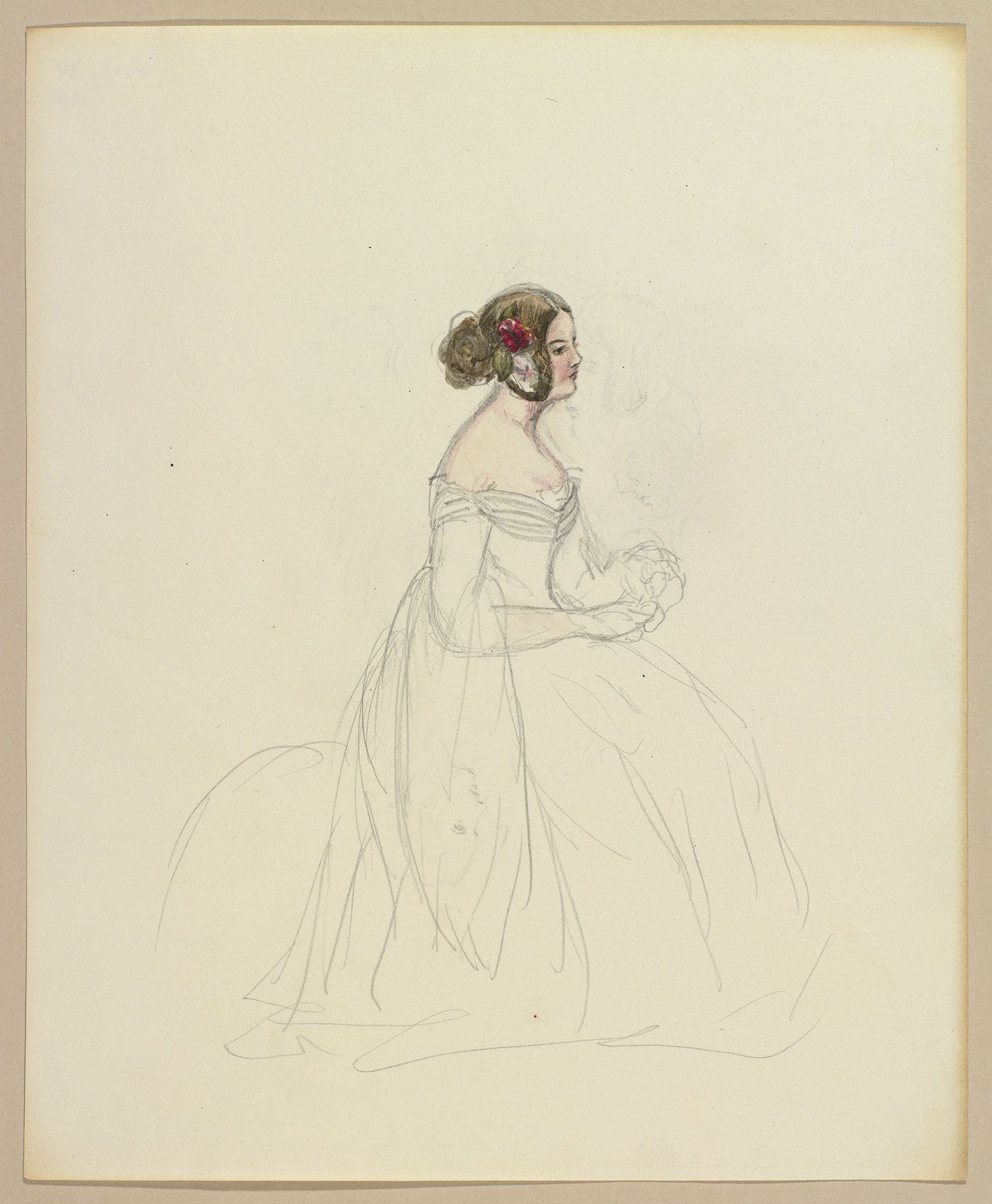 Princess queen victorias folder of sketches 1836 royal collection trust