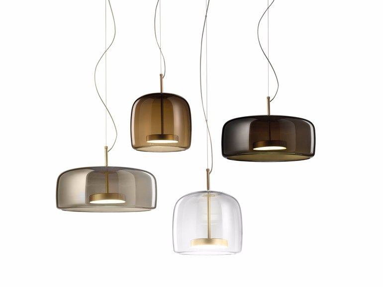 LED direct light blown glass pendant lamp JUBE SP by