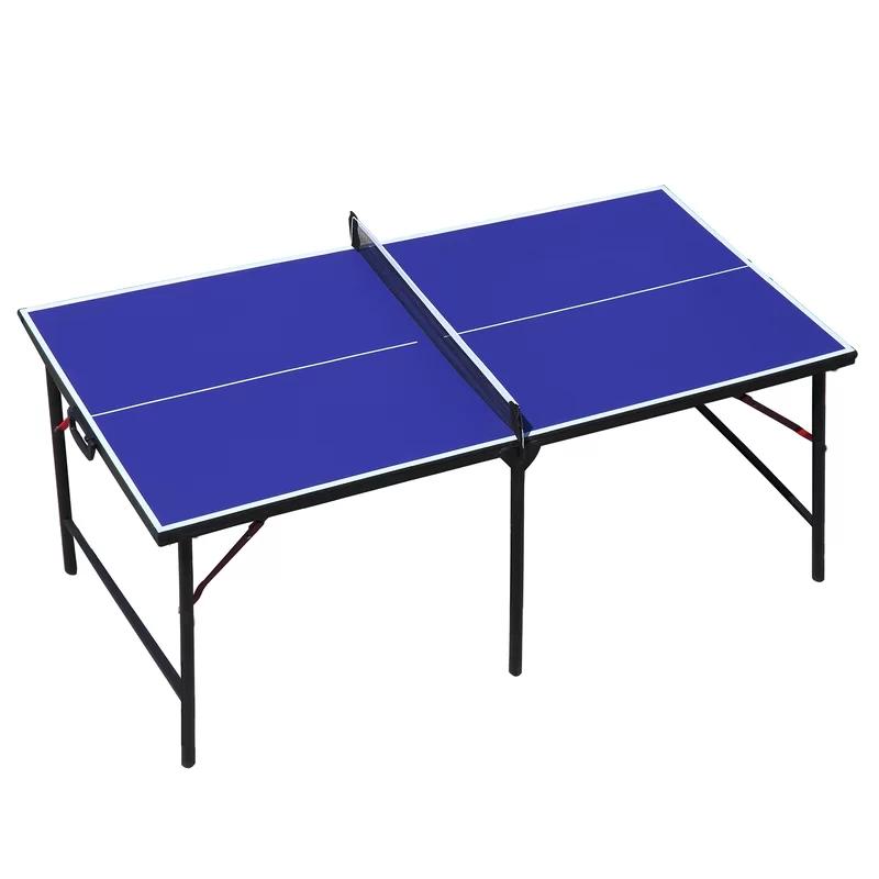 Mini Foldable Indoor Outdoor Table Tennis Table With Paddles And Balls In 2020 Outdoor Table Tennis Table Outdoor Tables Table Tennis Conversion Top