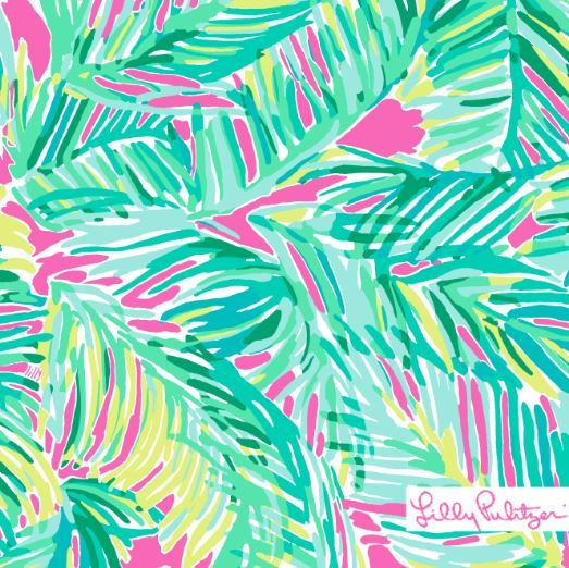 Lilly Pulitzer Tropical Pink Tropical Storm Lilly Prints