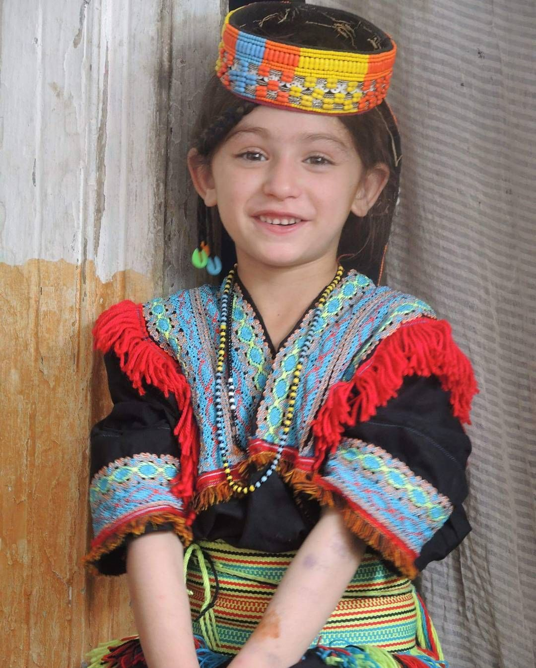Beautiful Girl From Kalash, Chitral, Pakistan  Kalasha -3395