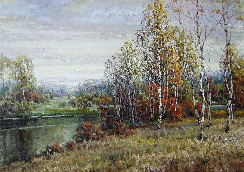 Jesień czas   Zajcew Alexander   ARTPO: sztuka na sprzedaż   malarstwo, obrazy sklep internetowy   Kup teraz   obrazy