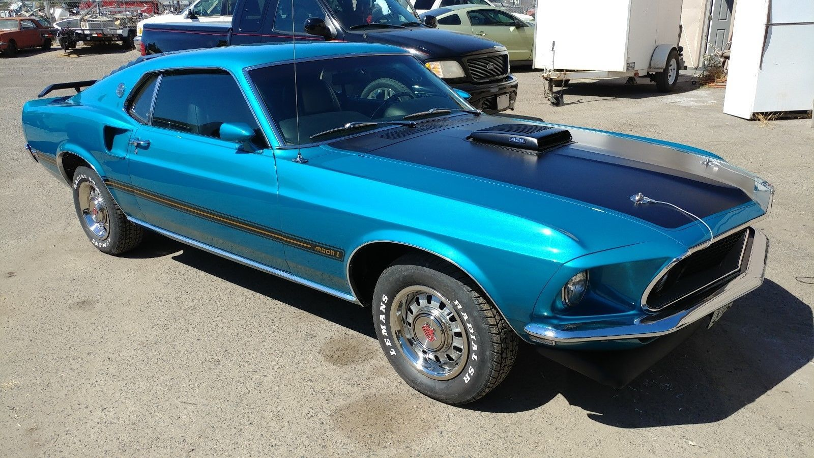 ebay 1969 ford mustang mach 1 428 cobra jet gulfstream aqua 428ebay 1969 ford mustang mach 1 428 cobra jet gulfstream aqua 428 cobra jet, shaker hood, r code and factory air, fordmustang ford