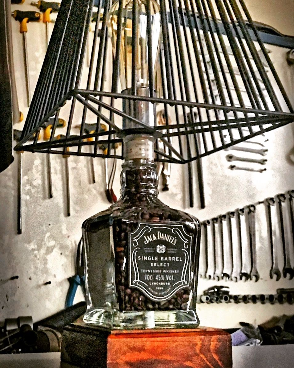 Photo of #imelgarage Jack Daniels Single Barrel lamp