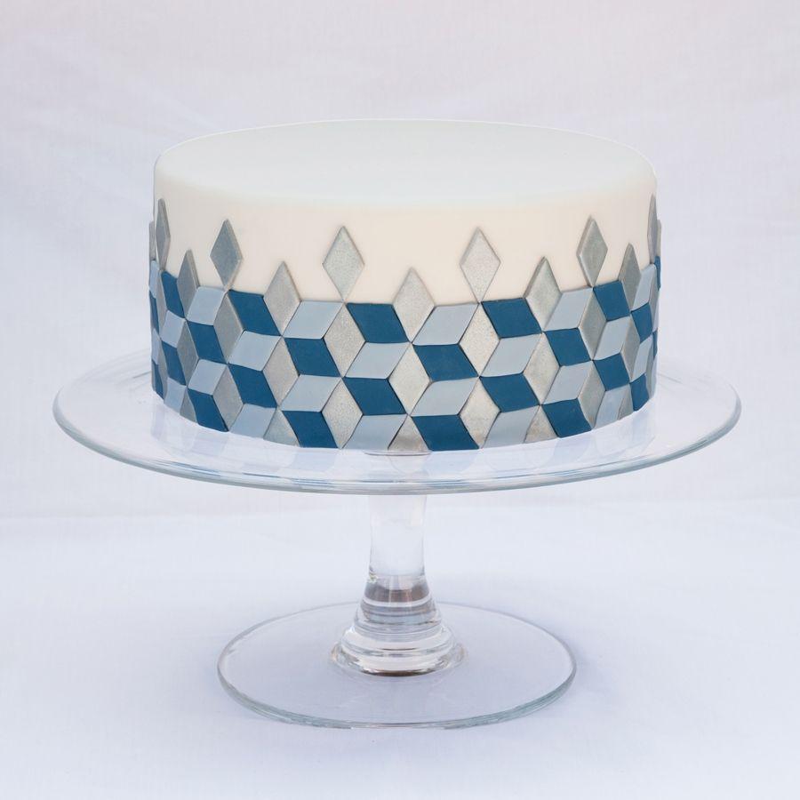 Modernist design cakes