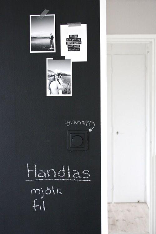 This isn't my actual door, but I did do this to my kitchen door & I love it!