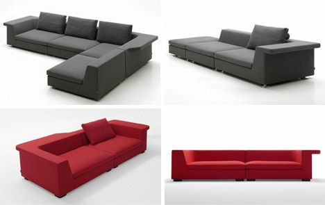 2 Creatively Designed Modern Couches Modern Couch Couch Home Decor