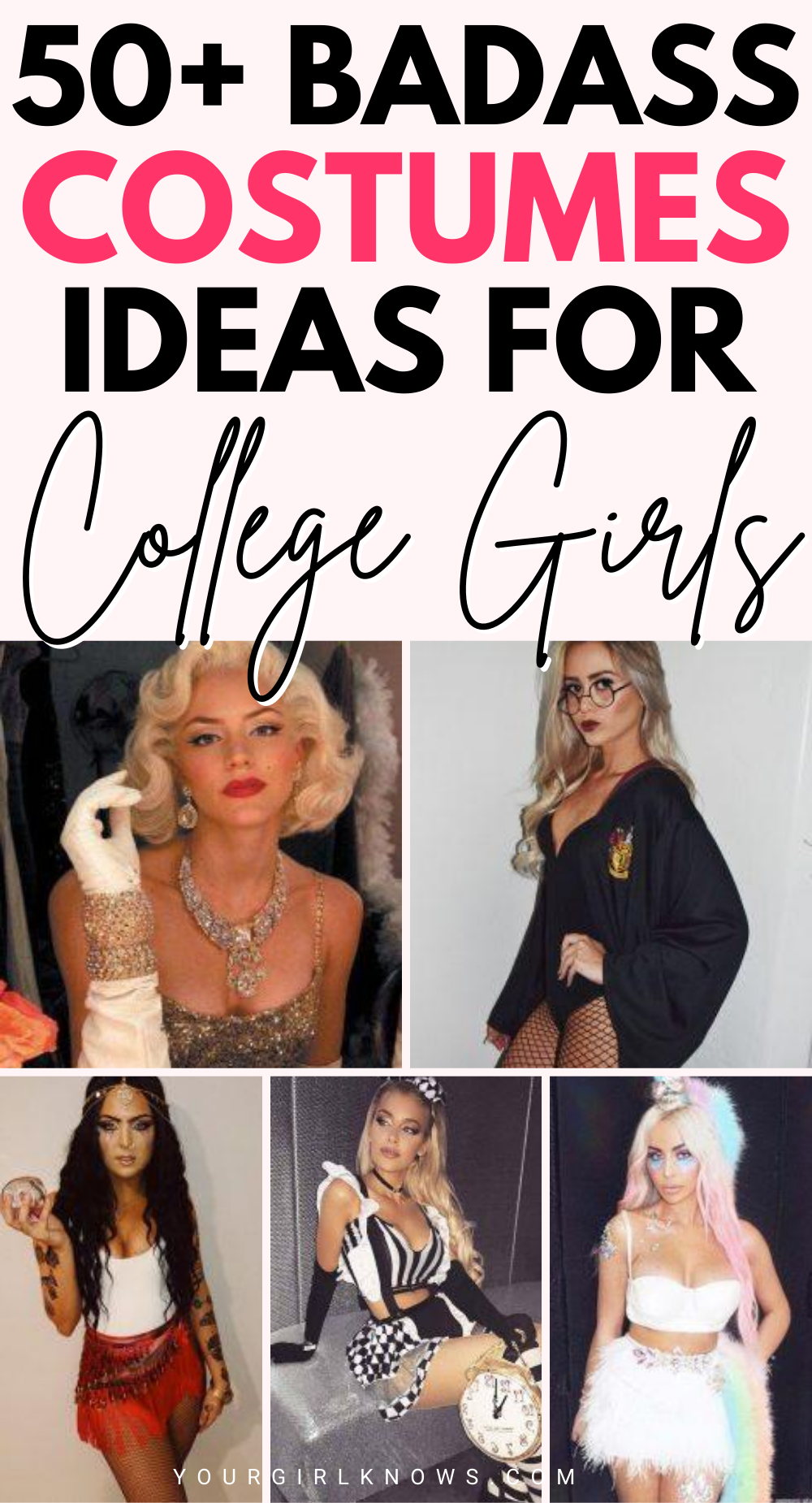 50+ UNIQUE HALLOWEEN COSTUMEs COLLEGE FOR GIRLS TO