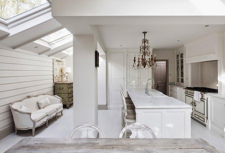 Francuska Elegancja Z Nutka Romantyzmu Modern Country Style Victorian Homes Home