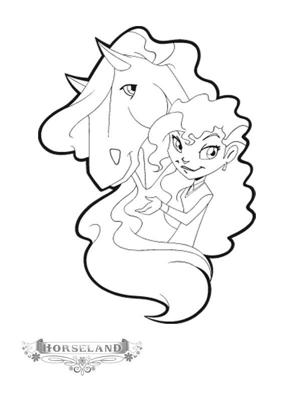 horseland coloring pages bing images - Coloring Pages For Young Adults