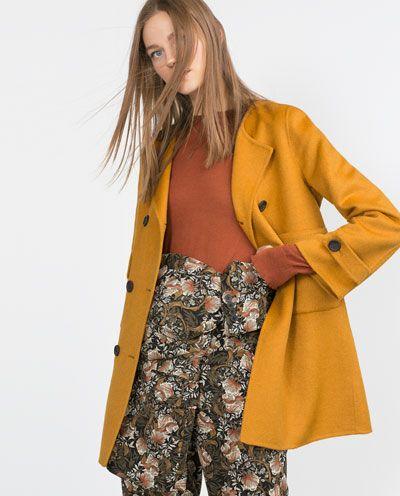 For Pinterest Zara Chistmas Mujer Made Abrigo Hand xIPSR