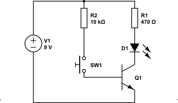 LED single #Transistor circuit is a semiconductor