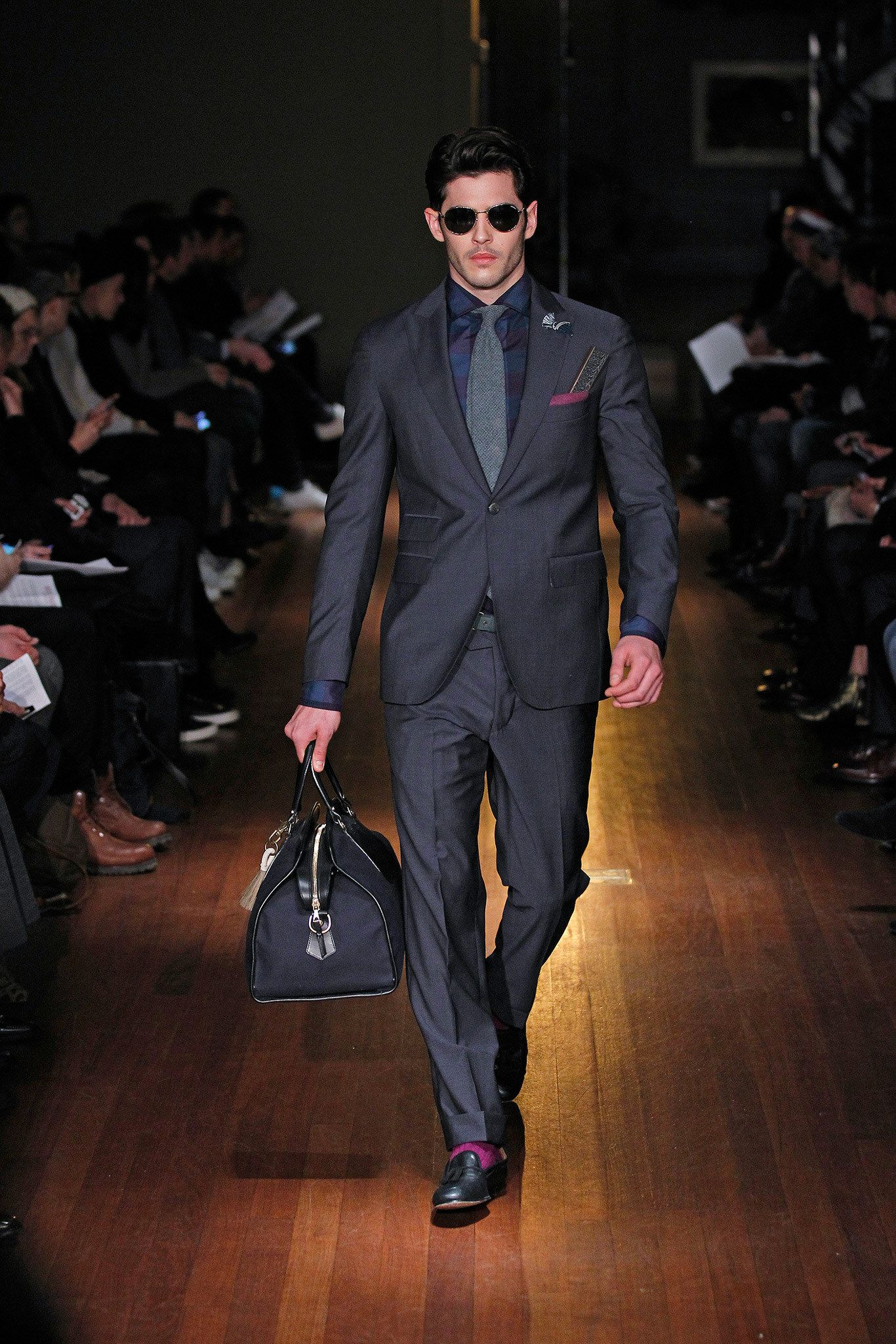 Michael Bastian Fall 2014 Menswear Fashion Show