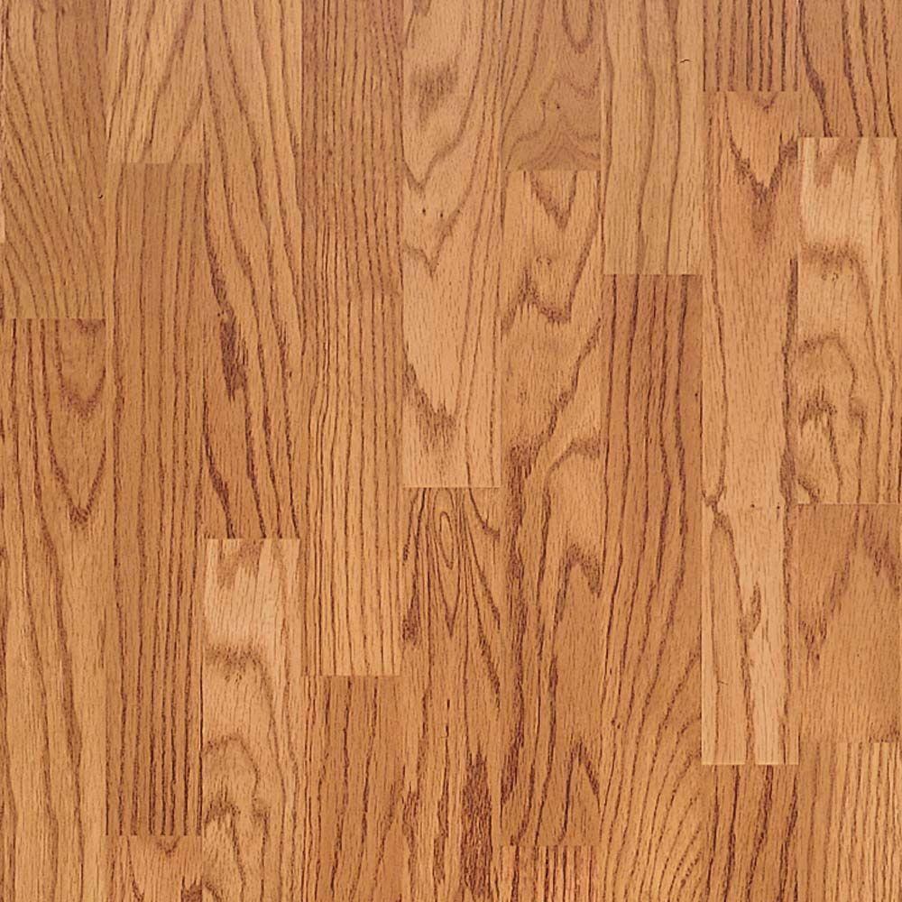 Presto Red Oak Blocked Laminate Flooring 5 In X 7 In