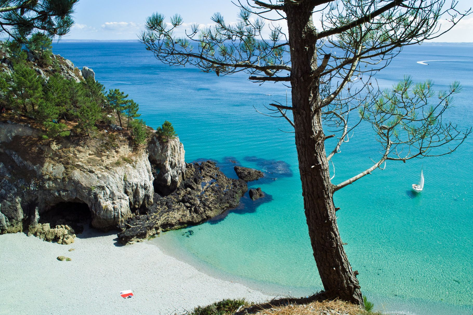 Ile Vierge Beach In Crozon France Best Beaches Europe