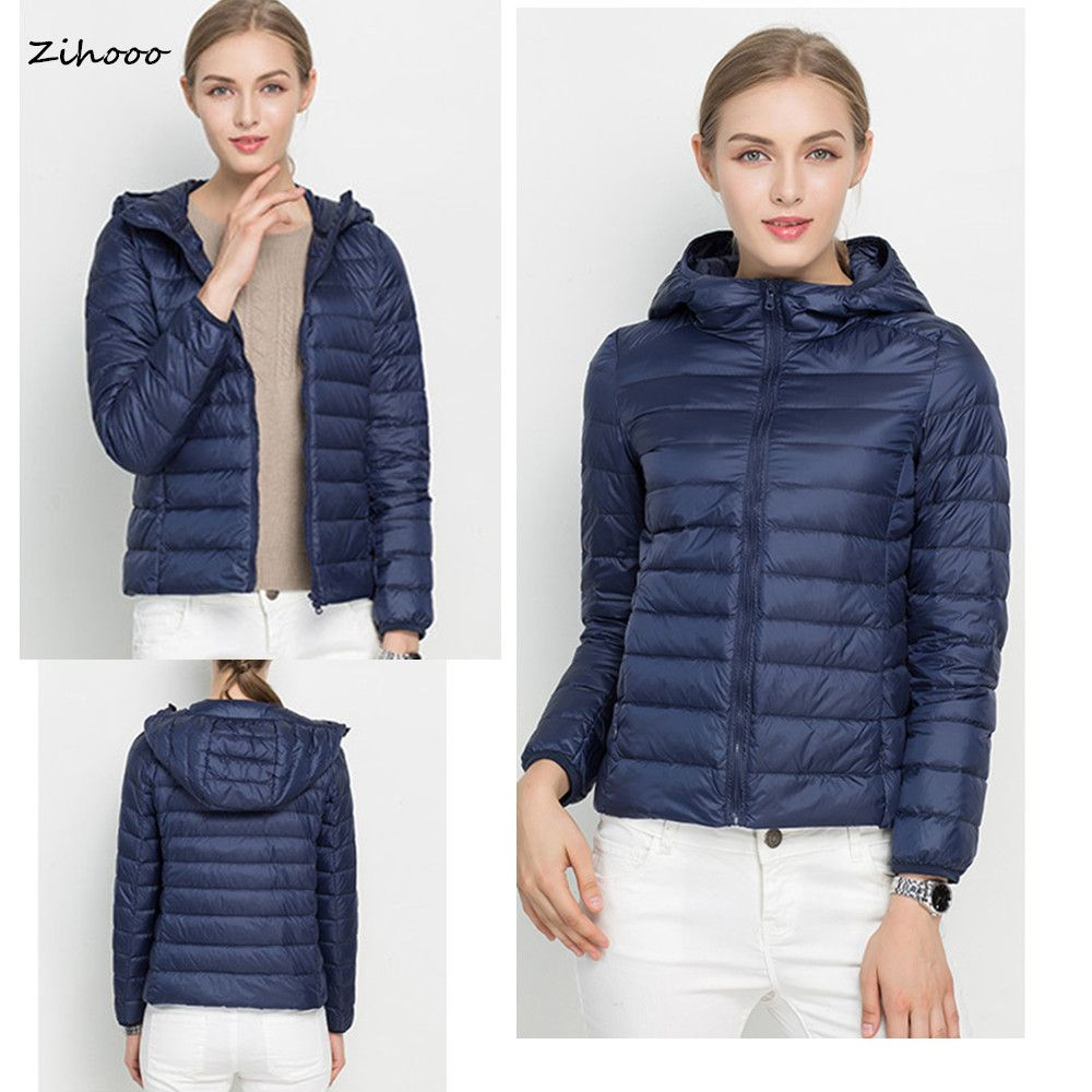 2017 Women Down Coat Winter Ultra Light Down Jacket Winter Coats ...