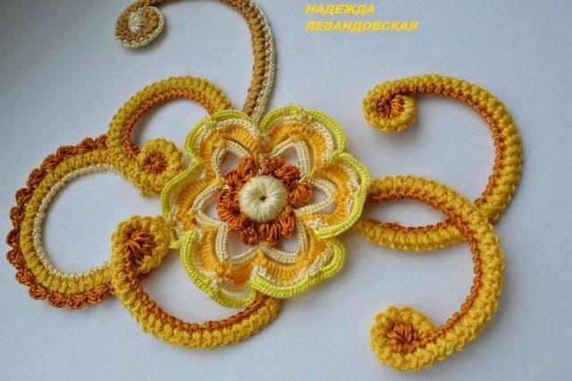 Irish crochet ... ♥ Deniz ♥