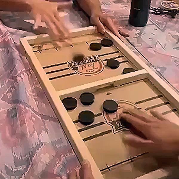 Photo of TABLE DESKTOP BATTLE 2 IN 1 ICE HOCKEY GAME