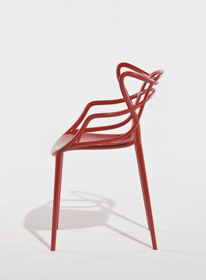 Philippe Starcku0027s U0027mastersu0027 Chair For Kartell Draws Its Form By Layering  The Shapes Of Classic Chairs By Three Design Masters.