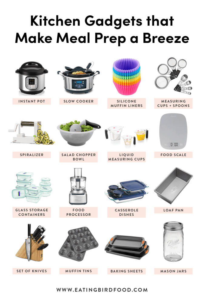 Want to step up your meal prep game? First you have to make sure you have the right equipment! Here are my top meal prep kitchen tools that will make prepping so much easier and more enjoyable. #mealprep