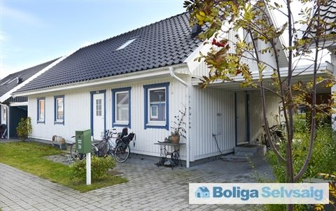 Græsmarken 24, 4140 Borup - Skønt svensk hus med solceller i Bofællesskab #rækkehus #borup # ...