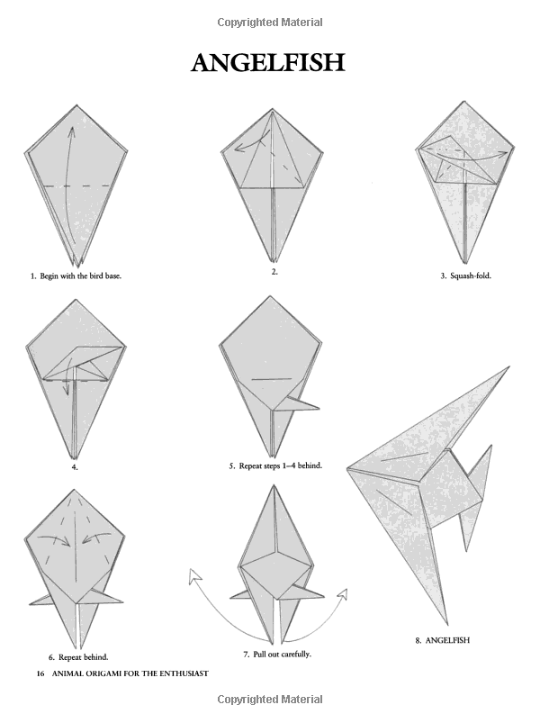 Origami Fish: Easy Folding Instructions | 803x600