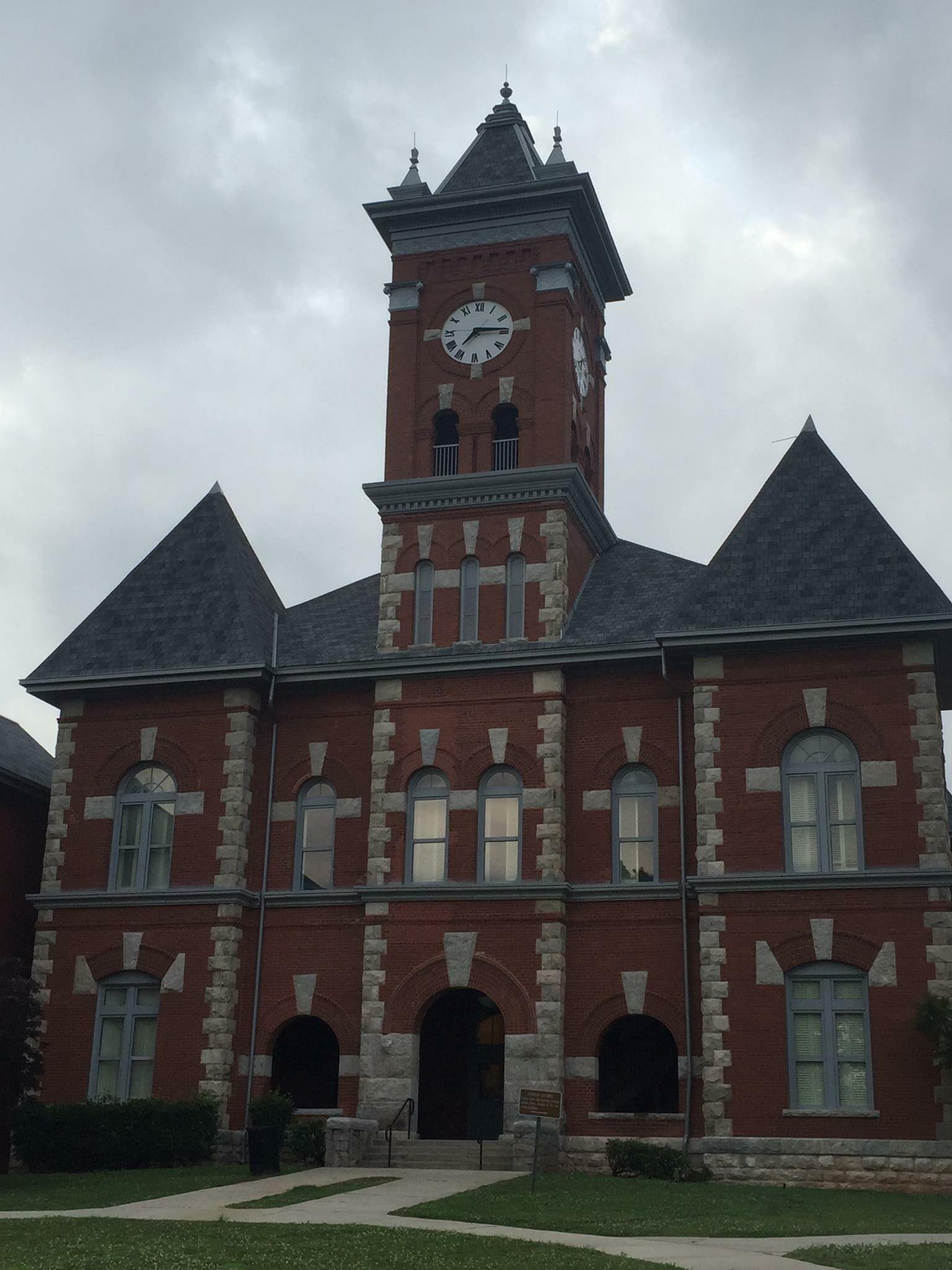 Historic Clayton County Courthouse. Jonesboro,