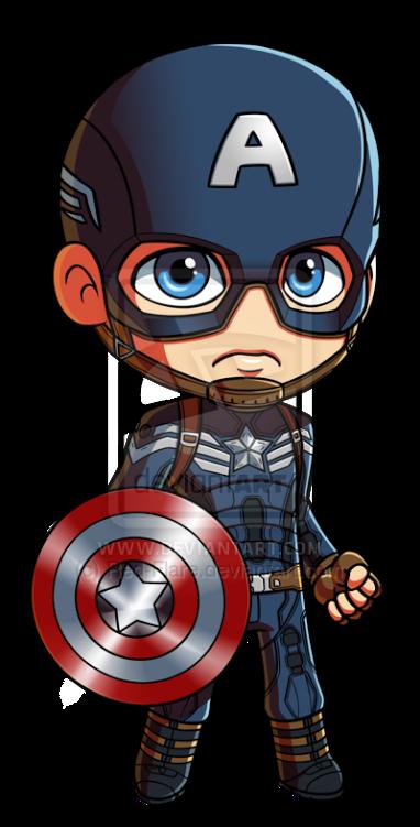 Marvel Comics Kawaii Captain America Earrings