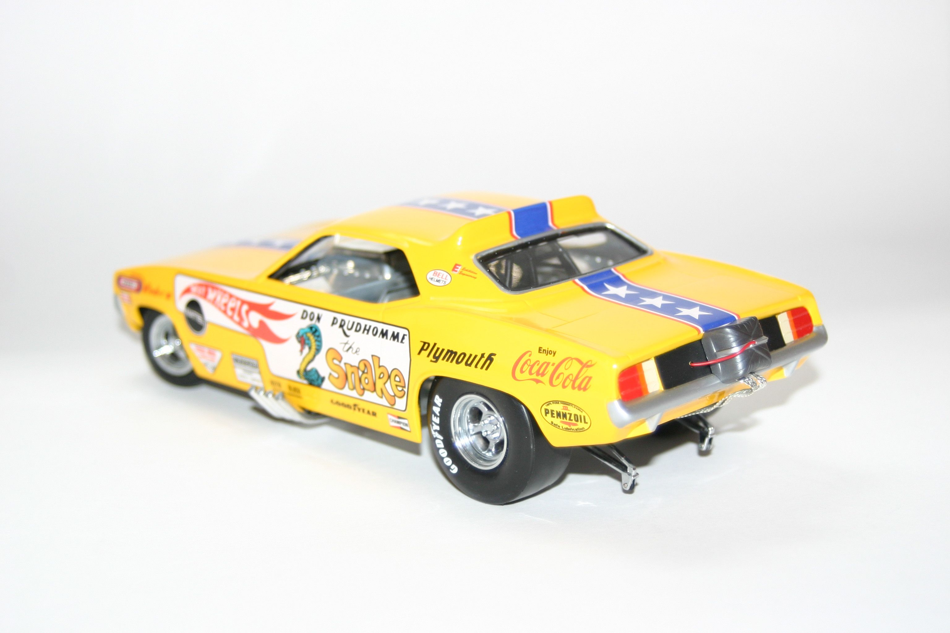 Plymouth Barracuda Snake Funny Car Dragster 1 24 Scale by Hot Wheels