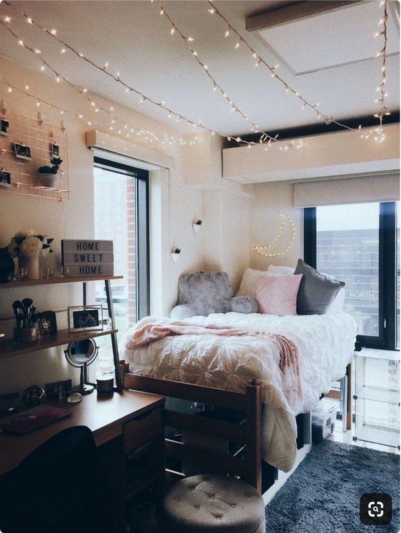 26 Inspiring Dorm Room Ideas You Have To Copy In 2020 Dyp In 2020 Beautiful Dorm Room College Dorm Room Decor Dorm Room Decor