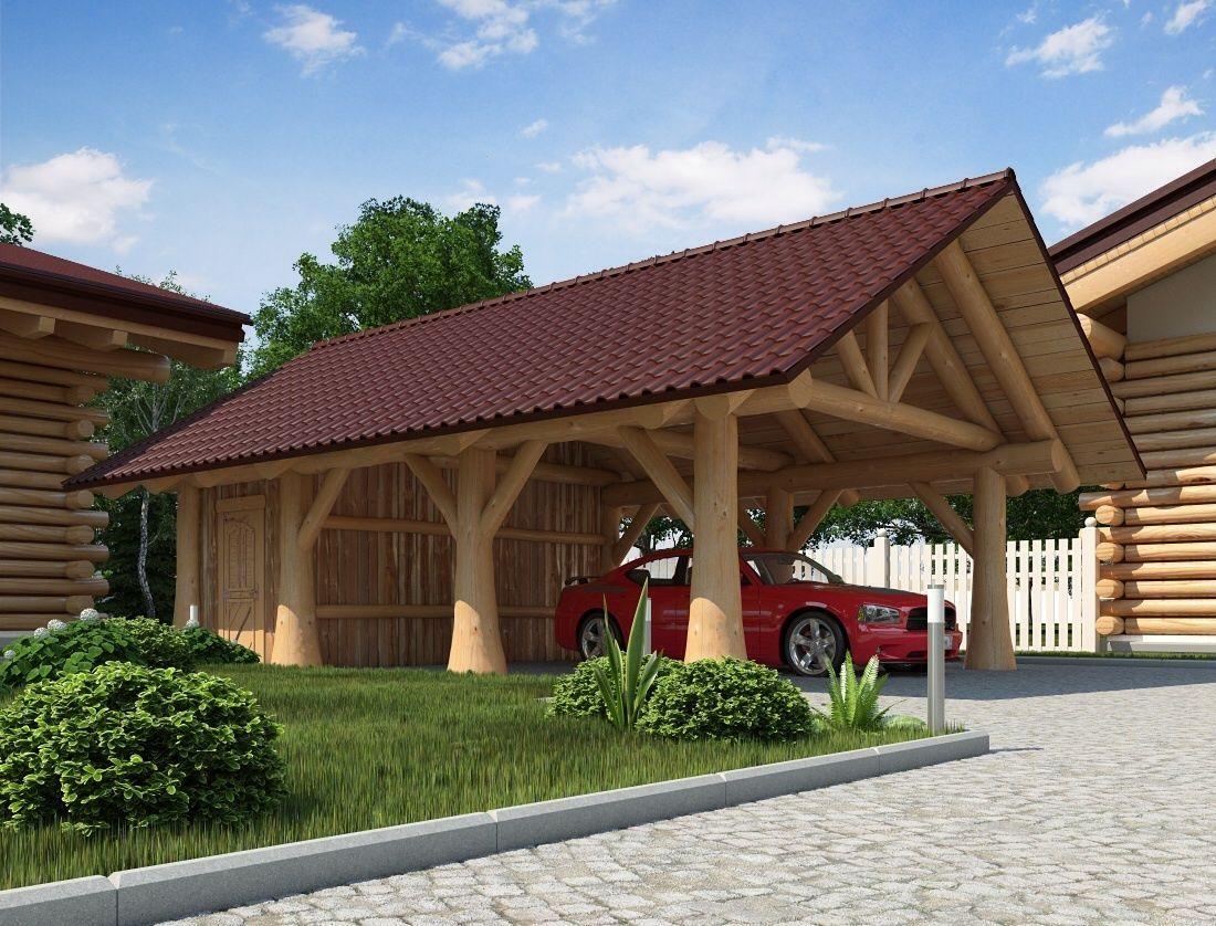 Gartenhaus, Naturstammhaus, Holzhaus, Carport, Sauna