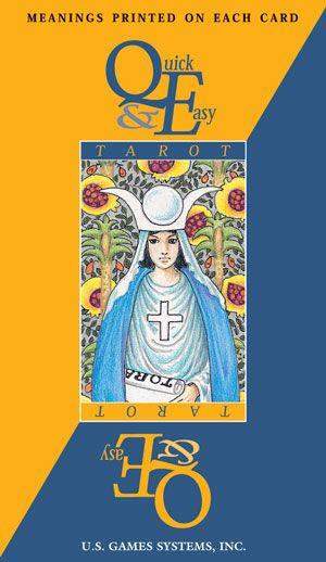 quick  easy tarot  tarot decks tarot cards for