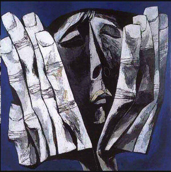 Oswaldo Guayasamin(1919ー1999)「Hands」