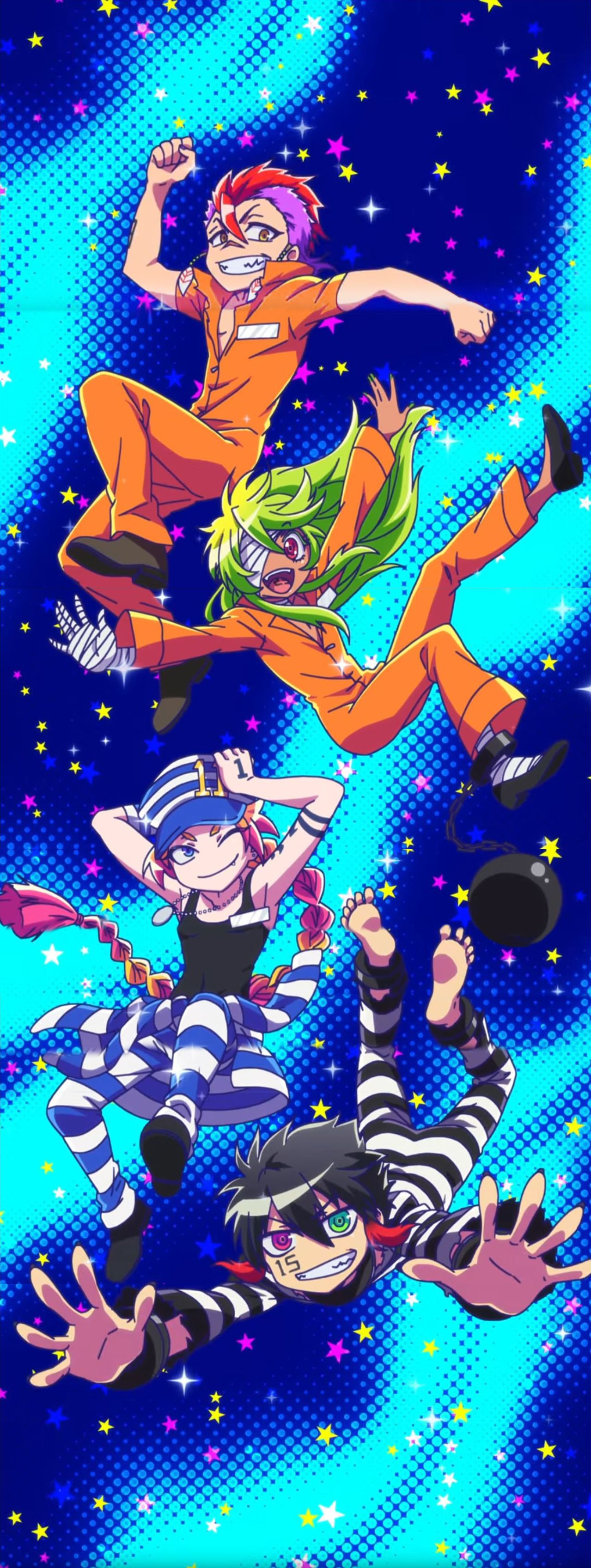 Nanbaka Ending Anime crossover, Anime guys, Kawaii anime