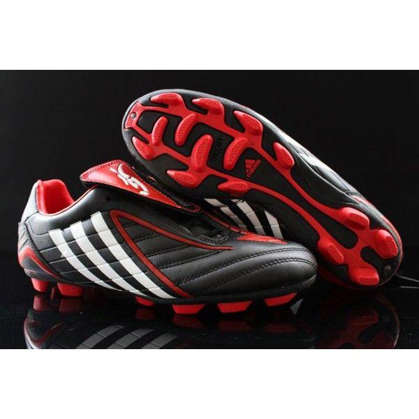piel abolir Por  Adidas Predator 2013 Powerswerve TRX FG Cleats Black Red   Adidas, Adidas  predator, Black and red