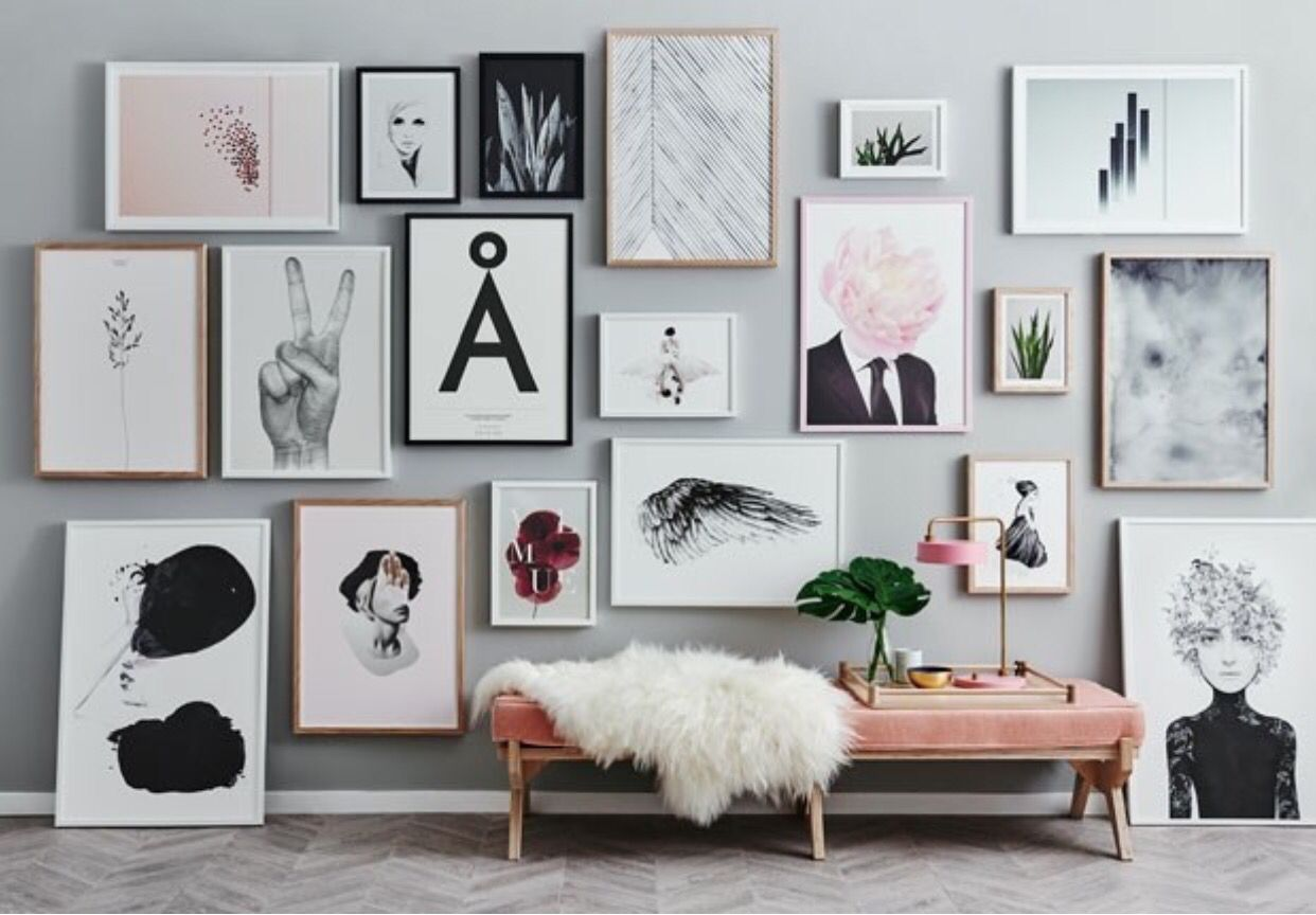 Quadros | Poster Frames in 2018 | Pinterest | Gallery wall, Wall and ...