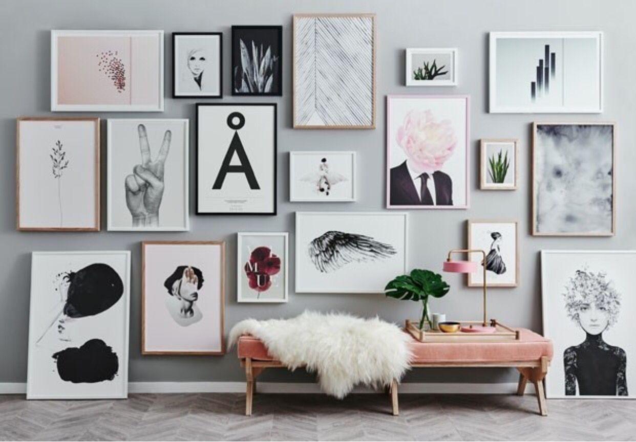 Quadros | mY dEn | Pinterest | Ideas para la pared, Interiores y ...