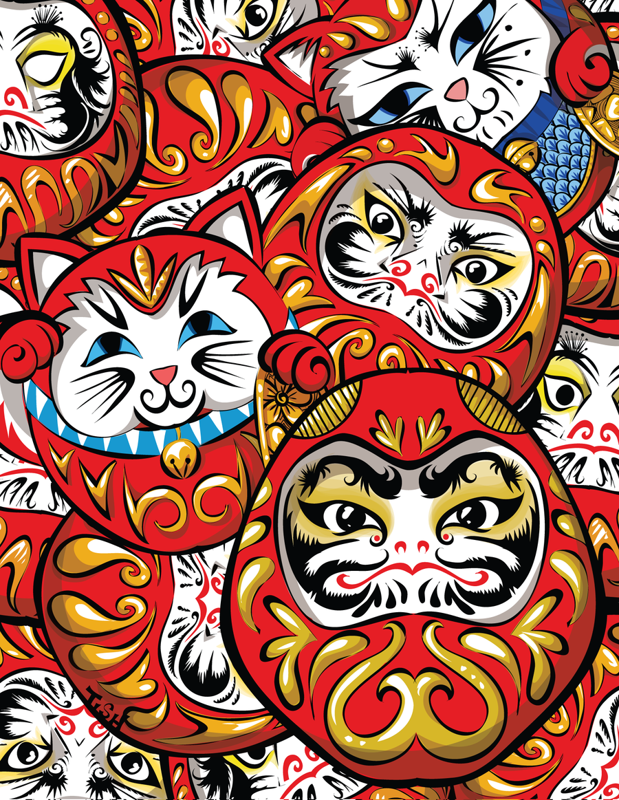 Daruma Daruma by labrattish on DeviantArt