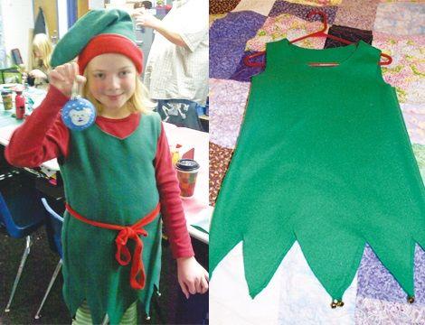 Disfraz fieltro elfos y duendes de navidad pinterest - Disfraces navidenos originales ...
