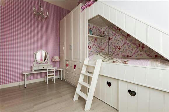 Leuke Kinderkamer Kast : Leuke bedstee met kast voor kinderkamer saar slaapkamer pinterest