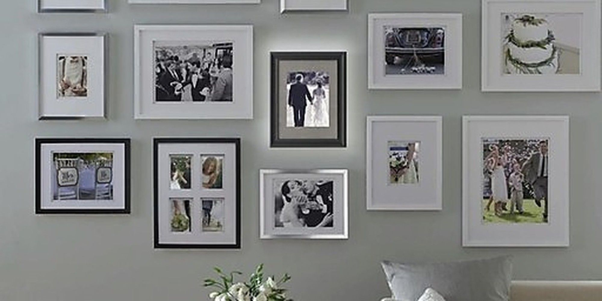 "If you just want to grab a heap of frames and get it done in a day (versus slowly curating frames and art) then this post is for you! 	 	VIA Bed Bath & Beyond Tip: Frames in the Real Simple Collection at Bed Bath & Beyond come with these ""templates."" It's a well known hack to map out your wall with ..."