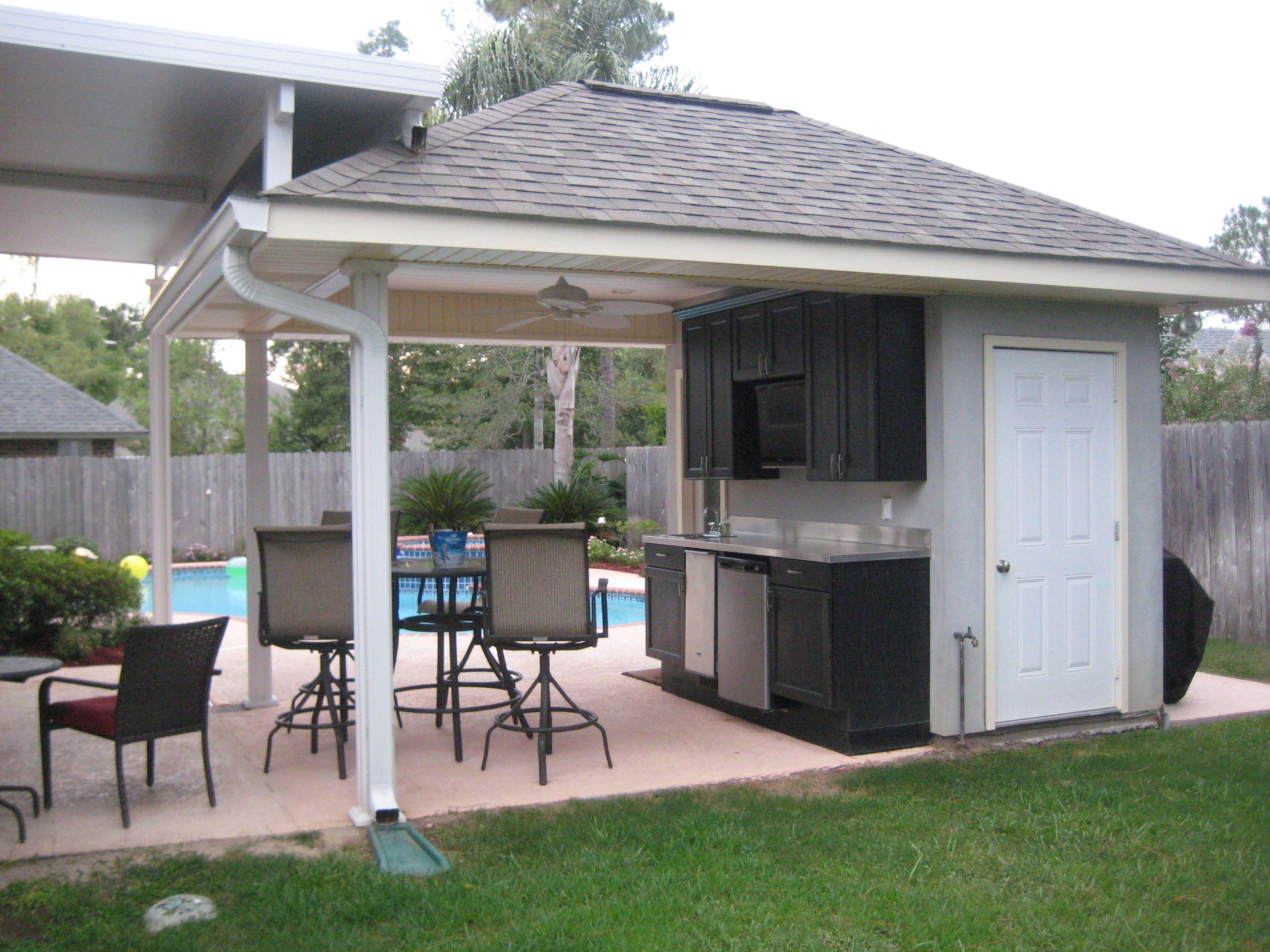 image result for pool cabana conservatory garden tea room