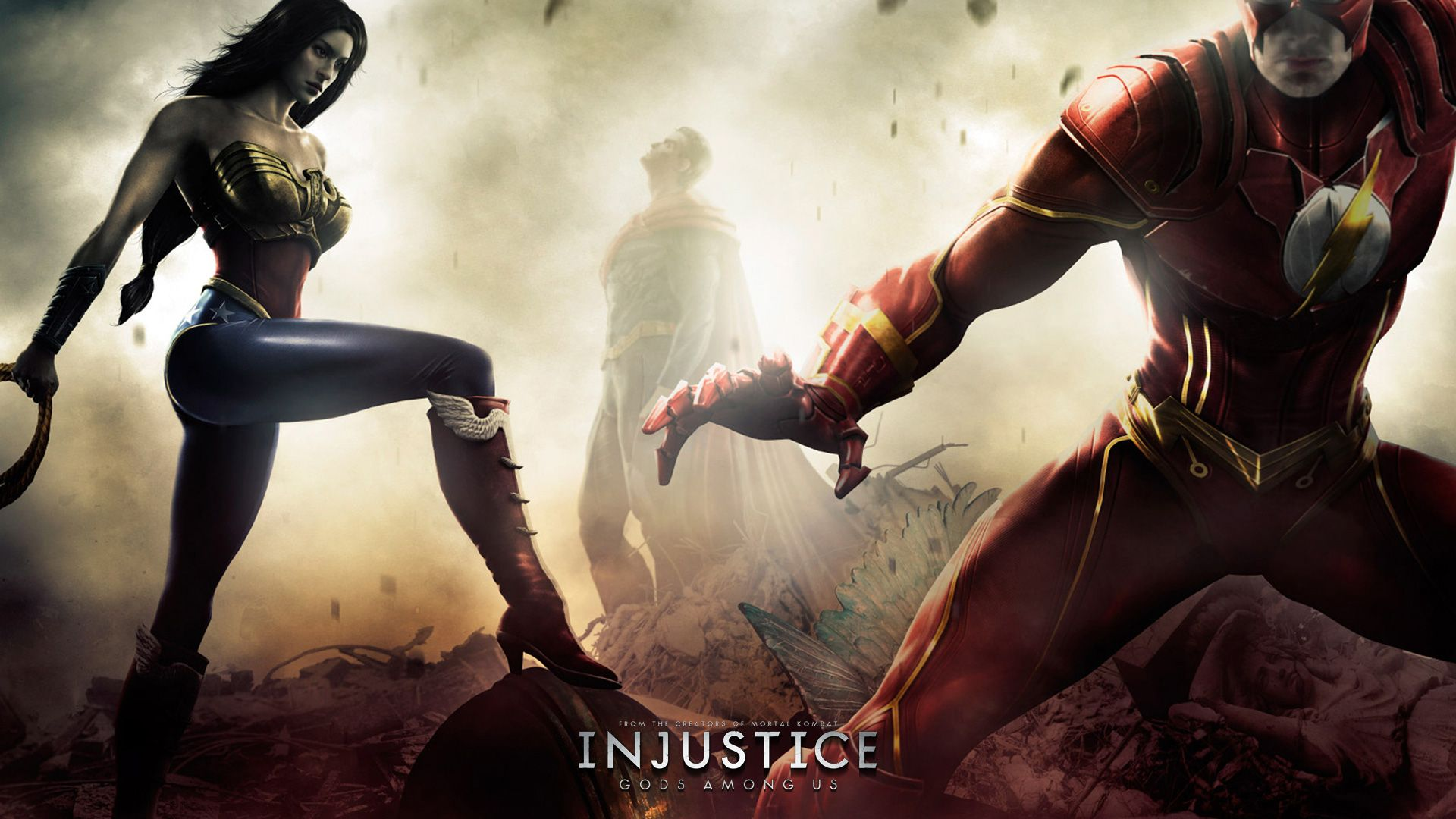 Pin By Wallpaper On Injustice Wonder Woman Injustice Movie Wallpapers